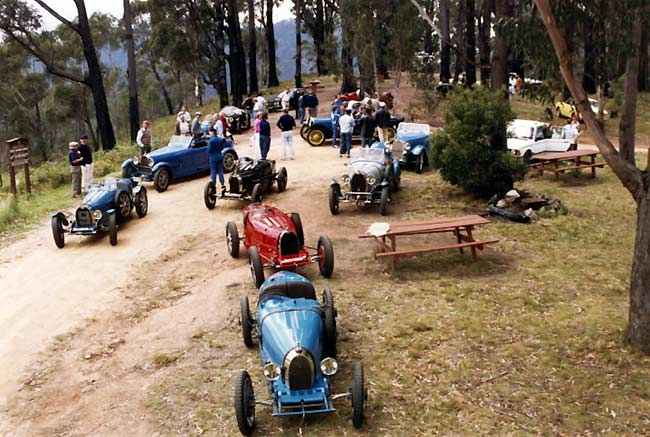 "A ""mixed bag"" of Australian Bugatti"